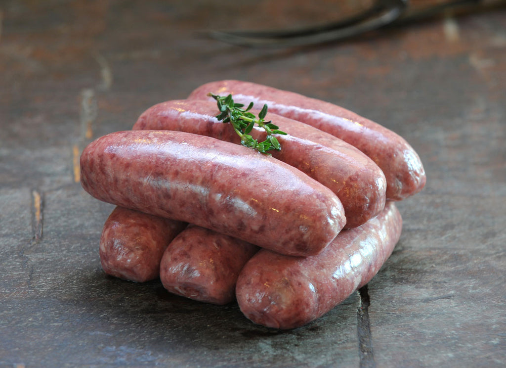 Venison & Pork Sausages