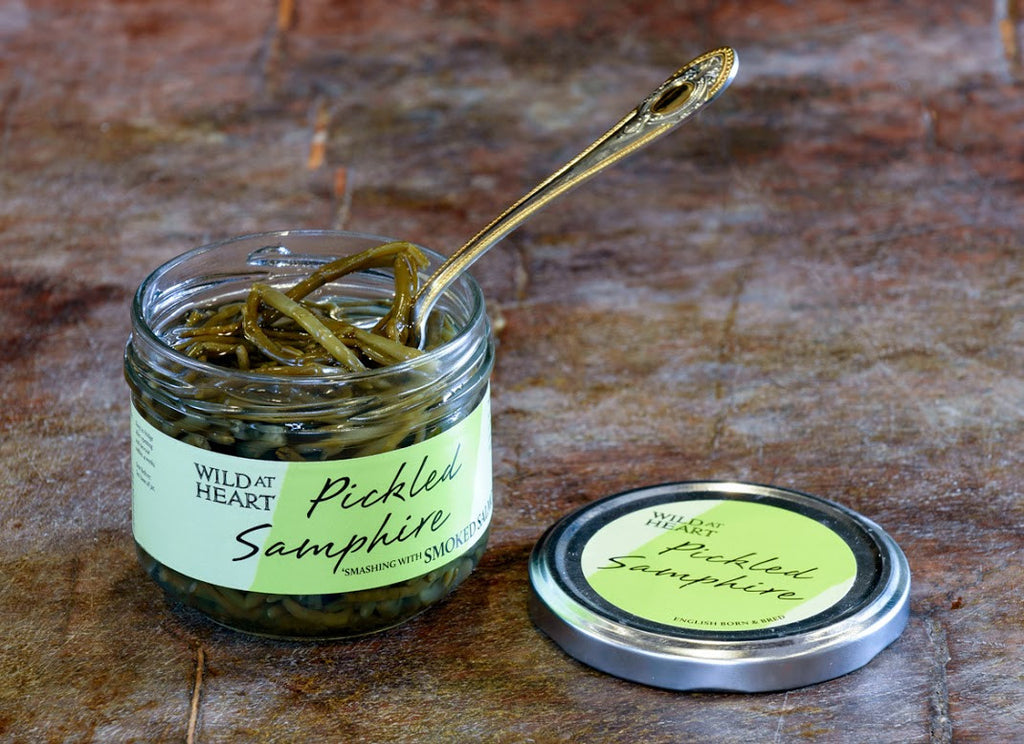 Wild at Heart Pickled Samphire