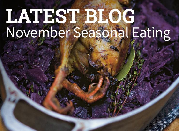 Blog - seasonal eating in April