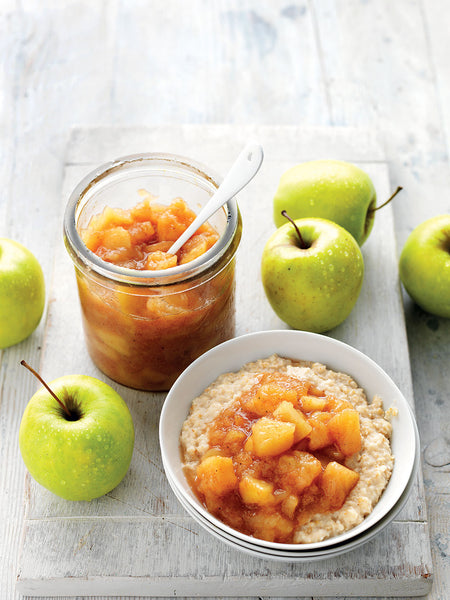 Spiced apple recipe from sydney markets Aggie Global share for what is in season may 2020