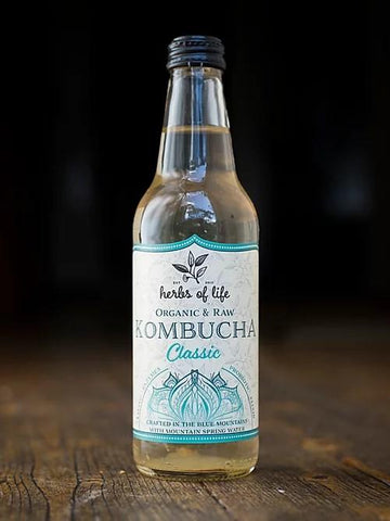 Kombucha (12 bottles)-Beverage-Herbs of Life-Classic-Aggie Global Australia