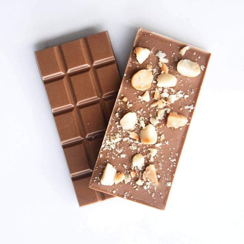 Salted Macadamia and Caramel Chocolate-Melbourne Bushfoods-Aggie Global Australia