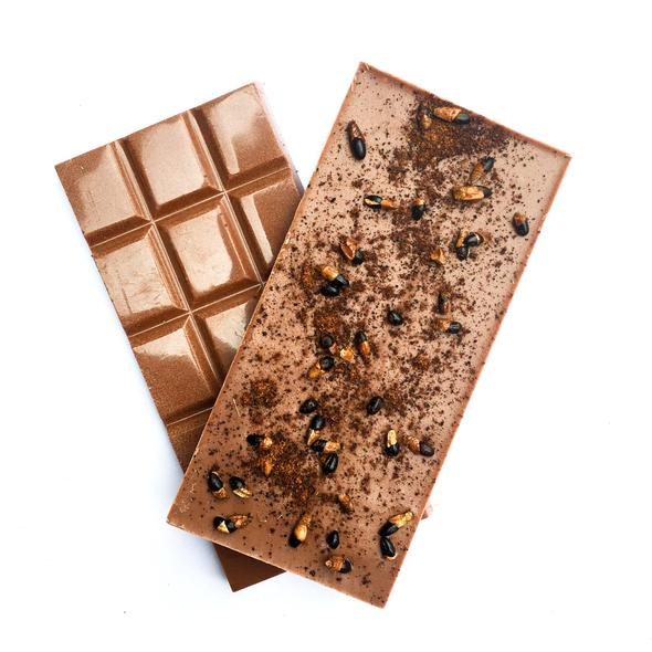 Wattleseed Crunch Milk Chocolate-Melbourne Bushfoods-Aggie Global Australia