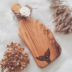Hand-made Wooden Paddle Board (Organic)-The Natural Gift Collective-Aggie Global Australia