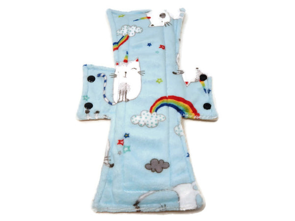 Caticorn Minky Single Night/Postpartum Pad - Tree Hugger Cloth Pads