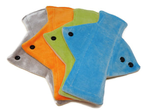 Bright Bamboo Heavy Flow Day Pads x4