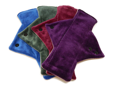 Dark Bamboo Heavy Flow Day Pads x4