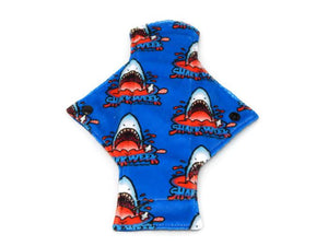 Exclusive Shark Week Minky Single Light Flow Day Pad - Tree Hugger Cloth Pads