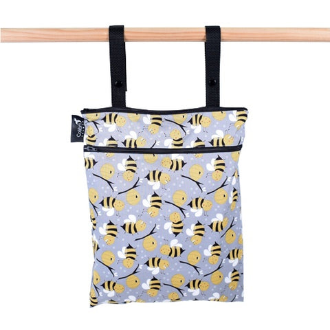 Colibri Bumble Bee Medium Wet/Dry Bag - Tree Hugger Cloth Pads