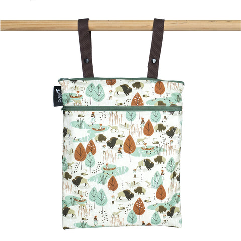 Colibri Nature Walk Medium Wet/Dry Bag - Tree Hugger Cloth Pads