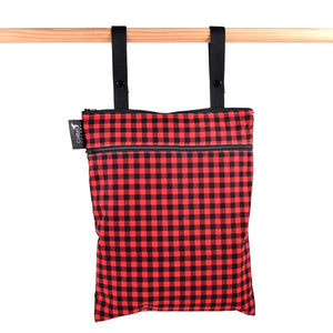 Colibri Plaid Medium Wet/Dry Bag - Tree Hugger Cloth Pads