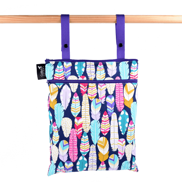 Colibri Quill Medium Wet/Dry Bag - Tree Hugger Cloth Pads