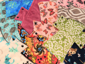 SAVE on Surprise Me! A Full Dozen Minky Night/Postpartum Pads - Tree Hugger Cloth Pads