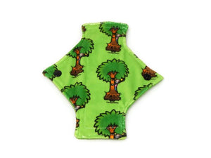 Exclusive Tree Hugger Minky Single Pantyliner - Tree Hugger Cloth Pads