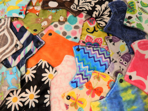 SAVE on Surprise Me! One Minky Pantyliner - Tree Hugger Cloth Pads