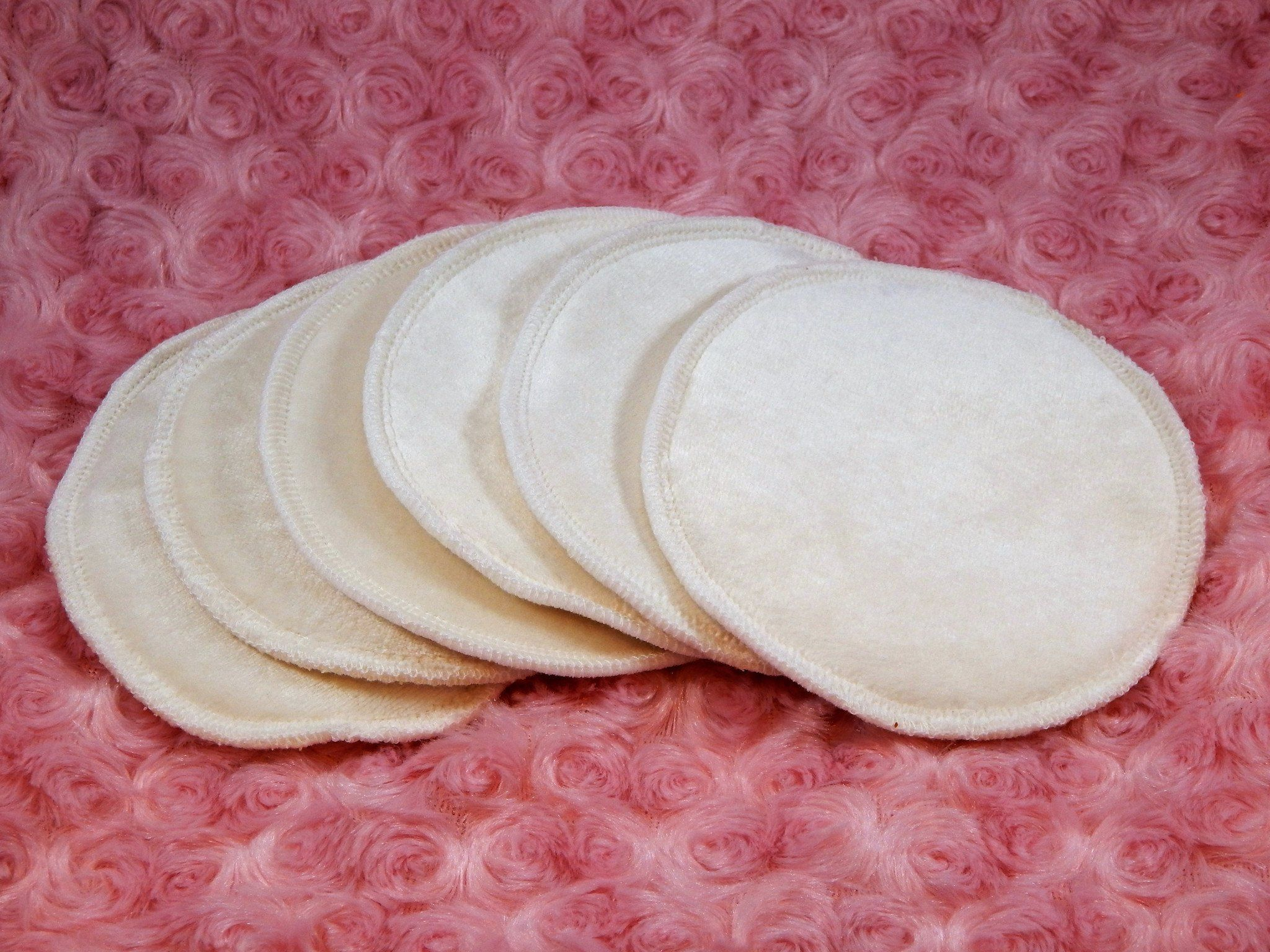 Washcloths - Reversible Un-Dyed Organic Nursing Pads