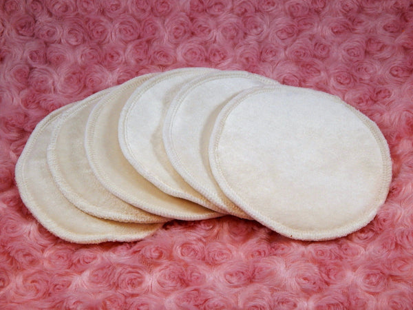 Reversible Un-Dyed Organic Nursing Pads - Tree Hugger Cloth Pads
