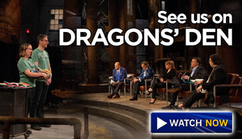 cloth pads on on Dragons Den