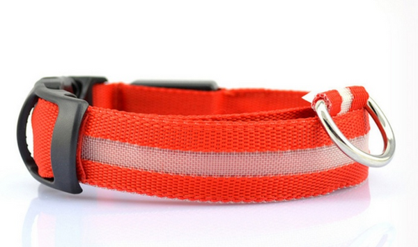 Rechargeable LED Dog Collar - [BE SEEN]
