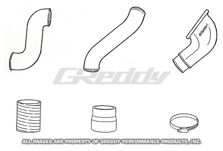 GReddy Mazda RX-7 1993-96 Aluminum Piping Kit (G)