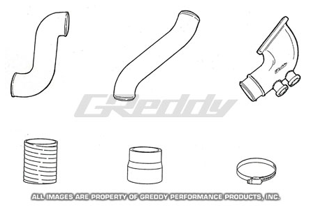 GReddy Mazda RX-7 1993-96 Aluminum Piping Kit (S)