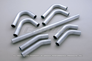 GReddy Universal 50mm / 60mm Piping Kit misc. steel mandrel bends, hoses & clamps