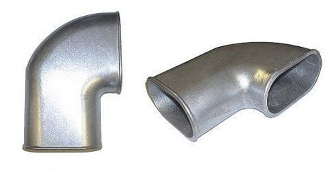"Cast aluminum elbow for 4"" to 4.25"" on 90 degree"