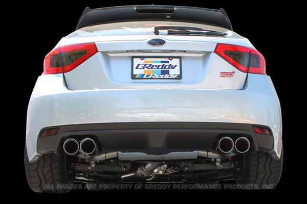 GReddy Supreme - SP Exhaust Subaru STI (HB) 	2009-14