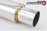 "GReddy Revolution - RS Exhaust Universal 3.0"" Muffler & Tip Any"