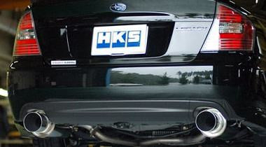 HKS HI-POWER EXHAUST - 2004 - 2008 LEGACY B4