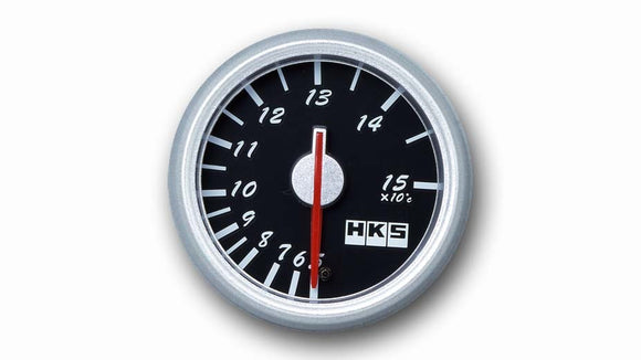 HKS DIrect Bright Series Temperature Meter (Black Face)
