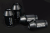 GReddy Racing Short M12 X P1.25Black Anodized Lug Nuts Most Nissan & late-model Subaru