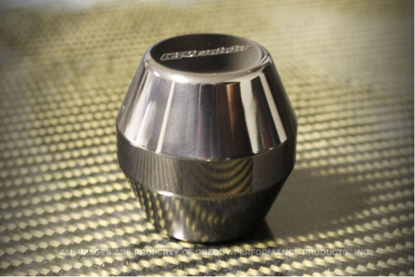 GReddy Type C, D385 Polished Shift Knob Most Honda & Acura Diamond Shaped M10xP1.5