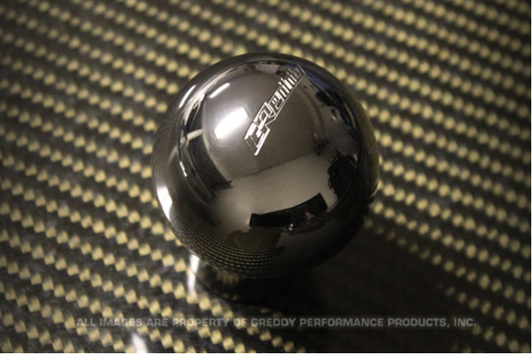 GReddy Type-A, B415 PVD Coated Shift Knob Most Toyota, Lexus, Scion & Subaru Ball Shaped M12xP1.25