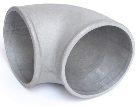 "Elbow, Cast Aluminium, 4"" 90 Degree, super tight radius"