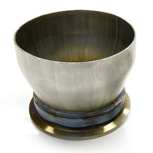 "Flanged Stainless Transition / reducer, 3"" to 4"""