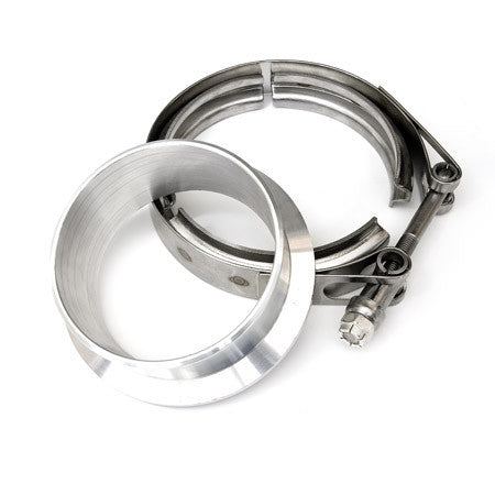 "3.5"" V-Band Flange & Clamp Set - V-band Compressor Outlet - Borg Warner S400 and S500 series SX SXE"