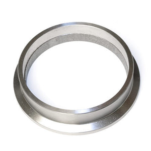 "Flange, 3.5"" V-Band STAINLESS STEEL (4.25"" OD flange, Grooved for 3.5"" OD Tube)"