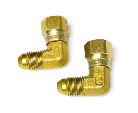 Fitting Swivel #4AN Flare, Male to Female 90D