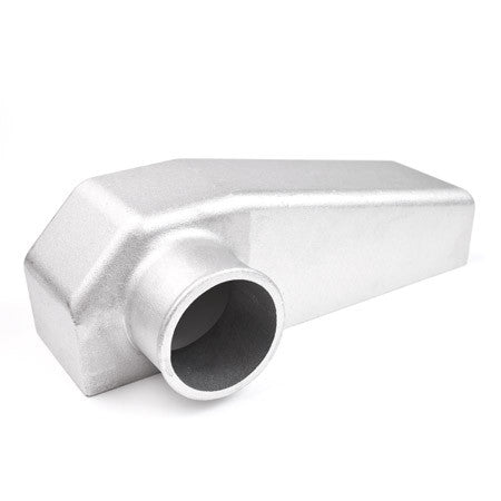 Outlet Aluminum End Tank Bottom Left