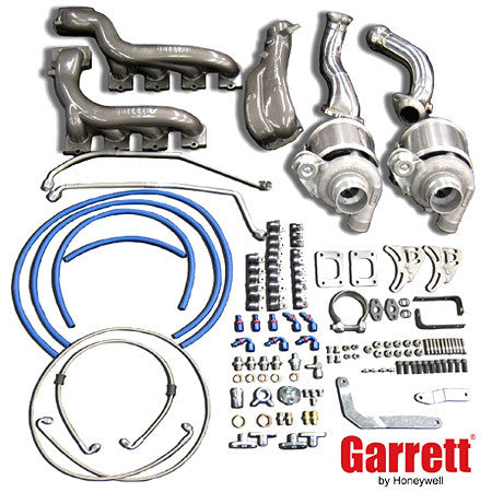 Mustang GT (2005 and newer) Garrett. Turbo GT Tuner Twin Turbo Kit for the 4.6L V8 engine