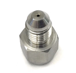 "-4AN INLINE - Oil Inlet Restrictor Fitting (0.035"") - GT & GTX (GT25 to GTX35)"