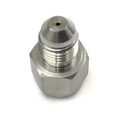 "-4AN INLINE - Oil Inlet Restrictor (0.065"") - For T3, T4, GT37, GT40, GT42, GT45, GTX50, GTX55"