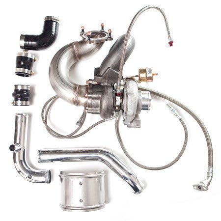 Turbo Kit, Eliminator2 (E2) GT25R Transverse 1.8T FWD, 250HP, Bolt-on (stock manifold/downpipe)