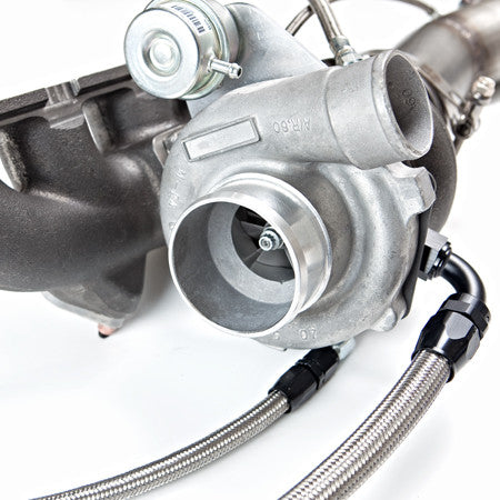 Garrett 400HP Internally wastegated GT2871R Turbo kit for the B7 (2005.5 to 2008) Audi A4 2.0T