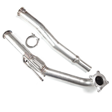 "High Flow Racing 3"" Downpipe For Transverse 2.0L FSI AWD Quattro Audi A3"
