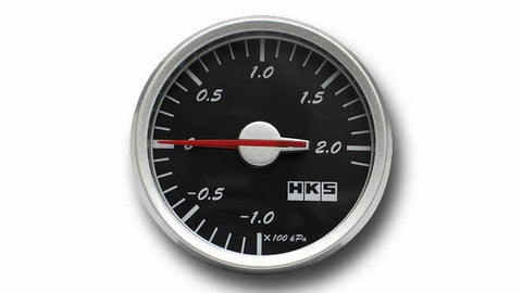 HKS Direct Bright Series Boost Gauge (Black Face)