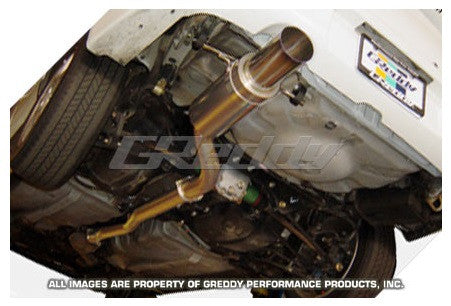 GReddy Subaru WRX/STI 2002-07 Racing Titanium Exhaust