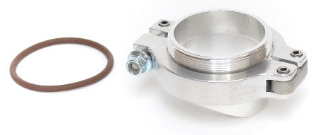 Tial QRJ Blow Off Valve - Inlet Mounting Flange & Clamp Kit (Stainless)