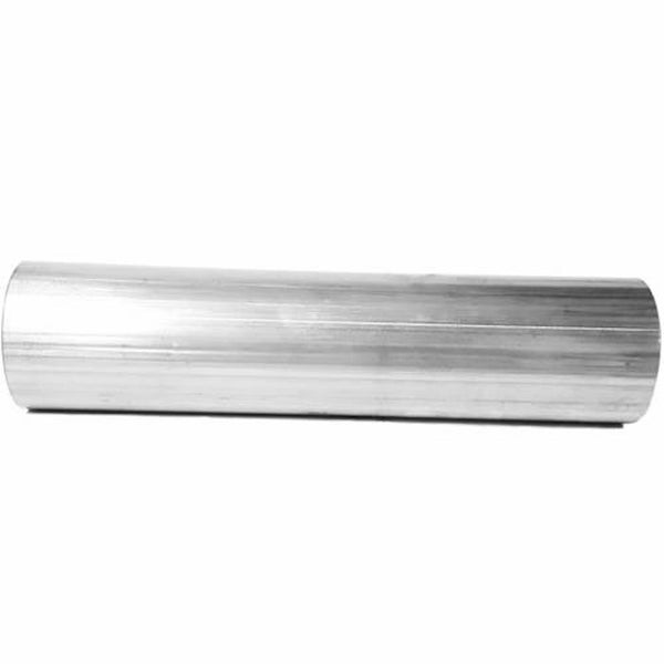 "Piping, Straight, 5"" OD, Stainless Steel, 1 Foot Length"